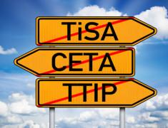 Die geplanten Freihandelsabkommen sorgen für Verunsicherung. (Foto: stockWERK)