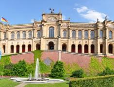 Panoramafoto Maximilianeum, Mnchen